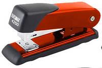 Степлер Buromax (скобы №24; 26), красный металлический корпус с пластиковой накладкой (BM.4250-05)