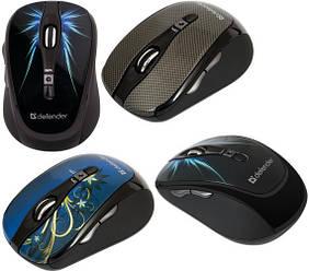 Компьютерные мышки и клавиатуры