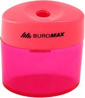 Точилка с контейнером, пластиковая,BUROMAX,BM.4752