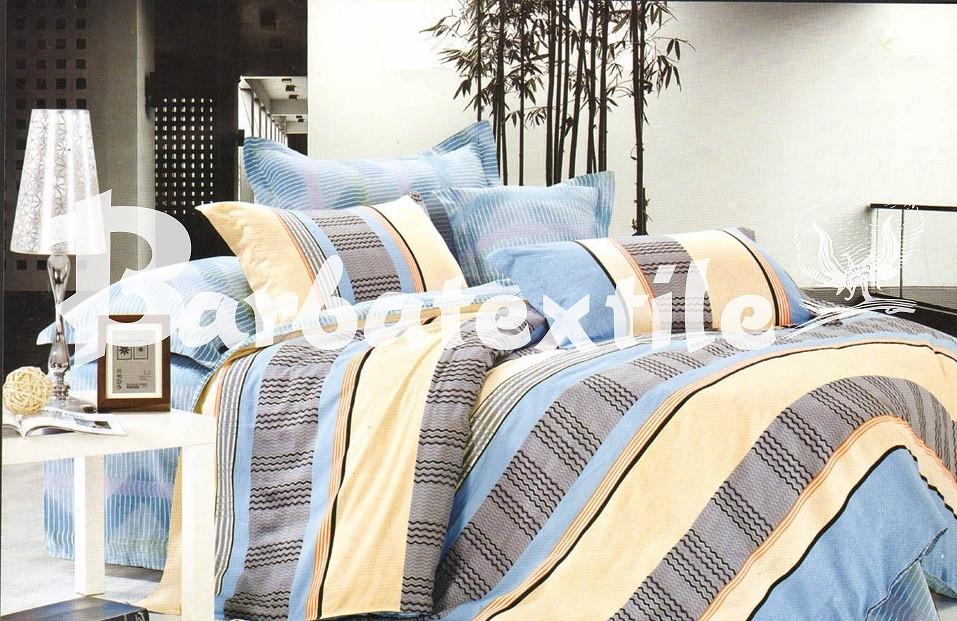 Полуторное постельное белье из натурального хлопка