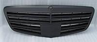 Решетка радиатора (черная матовая) Mercedes W221 в стиле Mercedes W222 Brabus.