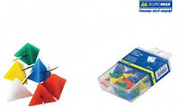"""Кнопки -гвоздики, """"пирамида"""" цветные 50шт. BUROMAX BM.5150"""