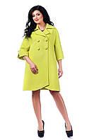 Женское свободное кашемировое осеннее пальто арт. 933 Тон 201