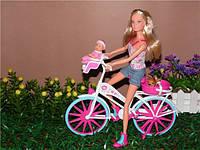 Набор Кукла Штеффи на велосипеде  SIMBA (СИМБА)