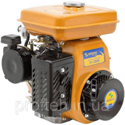 Двигатель бензиновый Садко EY-200R (5,0 л.с., ручной старт, шпонка Ø19мм, L=49мм)