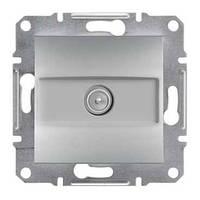 Розетка SCHNEIDER ASFORA EPH3200161 TV концевая (1 дБ) алюминий