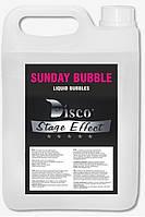 Жидкость для генератора мыльных пузырей Disco Effect D-SB Sunday Bubble, 5 л