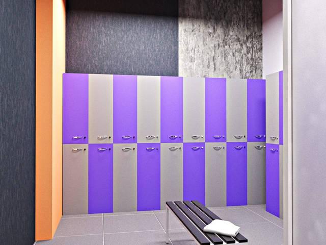 Дизайн интерьера фитнес-клуба Health factory в Одессе 5