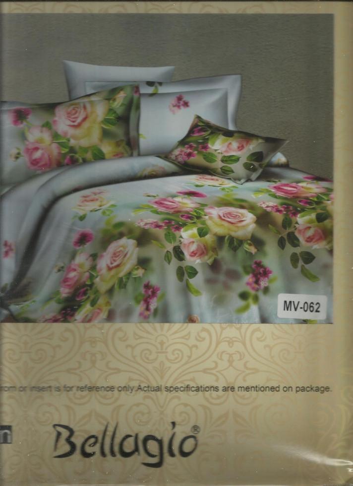 Полуторное постельное белье Розы (Турция)