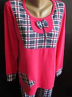 Трикотажные пижамы батального размера., фото 1