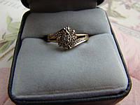 Кольцо золото 10К (п.583) 17.5р