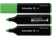 Маркер текстовый SCHNEIDER JOB 150,  зеленый (S1504)