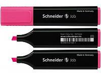 Маркер текстовый SCHNEIDER JOB 150,  розовый (S1509)