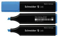 Маркер текстовый SCHNEIDER JOB 150,  синий (S1503)
