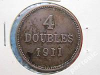 4 дабла Гернси 1911 состояние !
