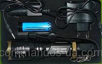 Тактический фонарик Bailong Police 1830-3000W T6 CREE
