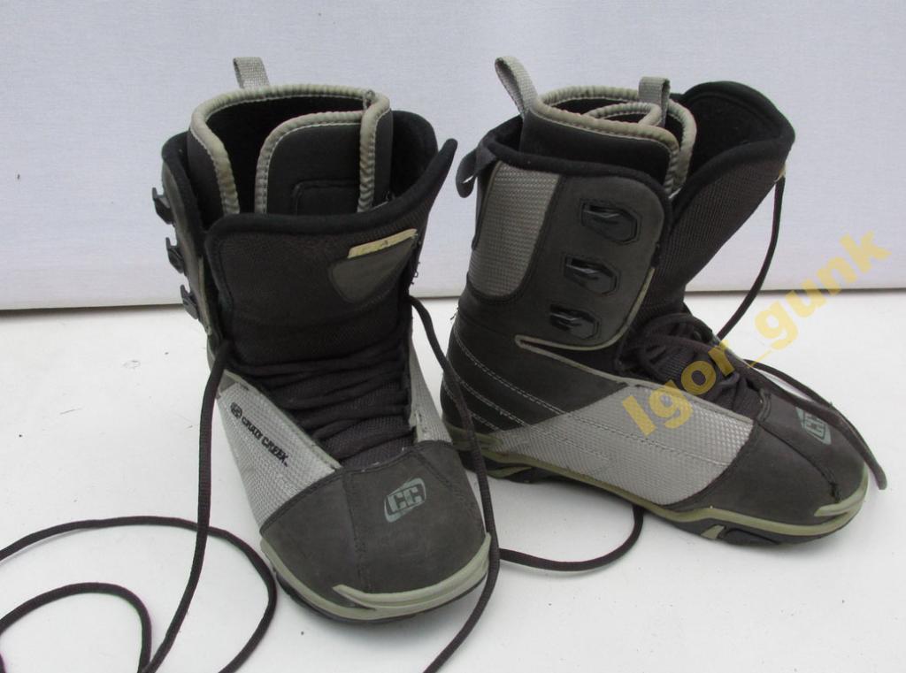 Ботинки для СНОУБОРДА, CRAZY CREEK, 35 (22.5 см)