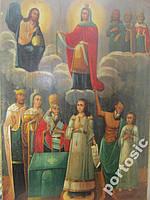 Икона Покрова Пресвятой Богородицы. Храмовая большая