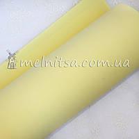 Фоамиран иранский №4, лимонный