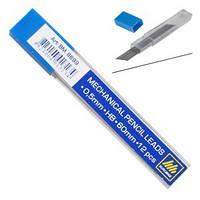 Грифели для механических карандашей Buromax ВМ8698 HB 0,5 мм