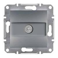 Розетка SCHNEIDER ASFORA EPH3200162 TV концевая (1 дБ) сталь