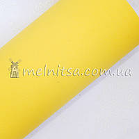 Фоамиран иранский №5, желтый