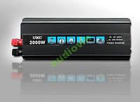 Преобразователь автоинвертор с зарядным устройством 2в1 UKC 2000W