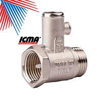 ICMA Предохранительный клапан для водонагревателя 1/2