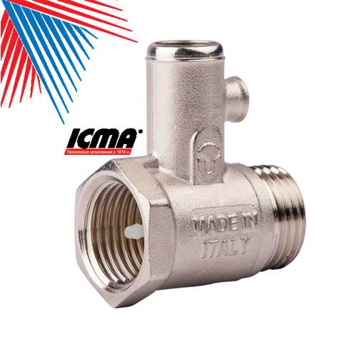 ICMA Предохранительный клапан для водонагревателя 1/2 - Интернет-магазин S-klad.biz территория низких цен в Харькове