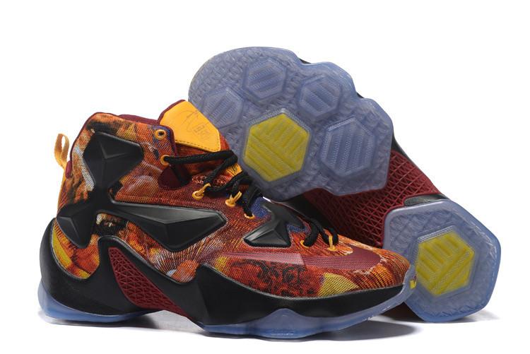 Кроссовки мужские Nike Lebron 13 / LBM-078