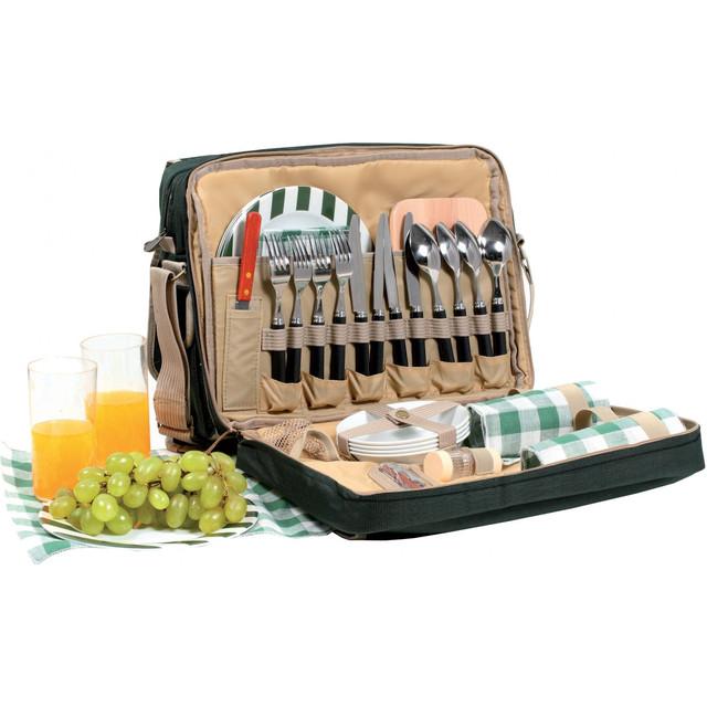 Сумки-пикниковые наборы, наборы посуды