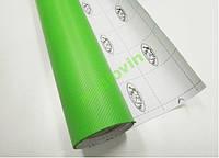 Карбоновая пленка зеленая 100х127см