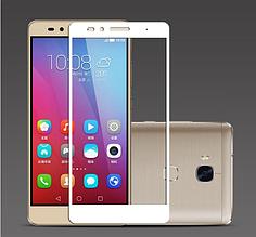Защитное стекло Optima 2.5D на весь экран для Huawei GR5 Honor 5x белый