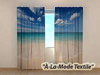 Фотошторы 3D Солнечный пляж