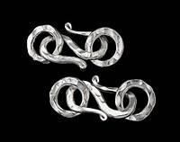 Замочек S серебро п.970