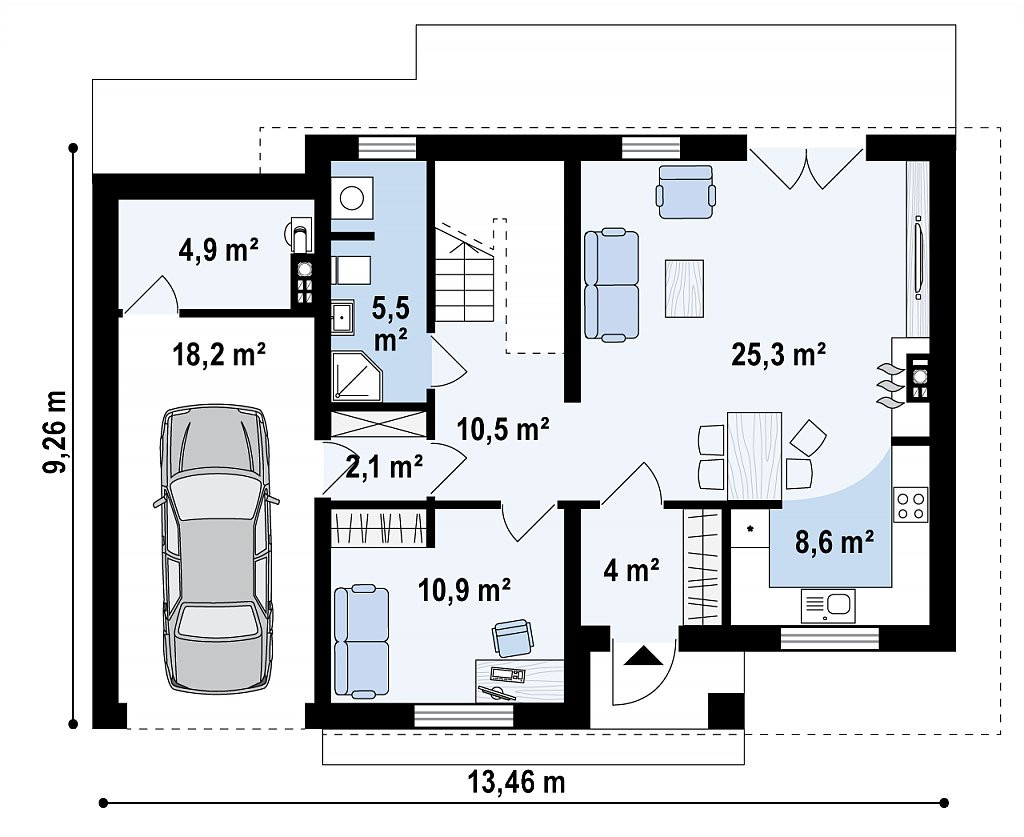 Проект Дома № 2,26
