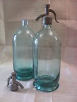 Бутылка сифон  3л стекло  с толстым дном производство СССР