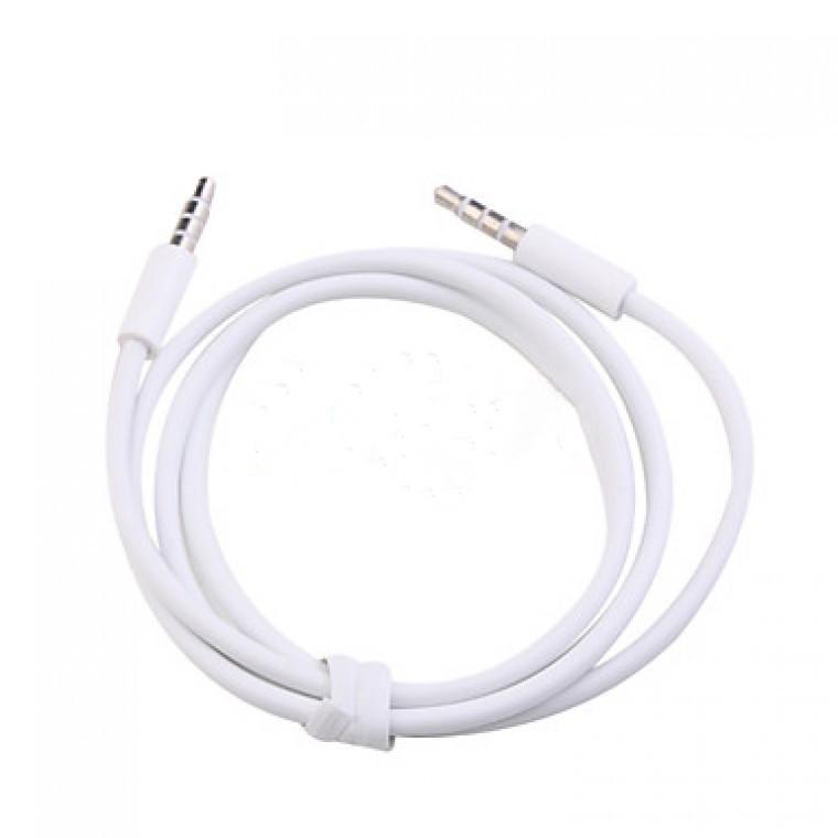 AUX Аудио кабель 1 метр четырех контактный
