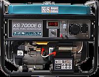 Генератор Гибрид бензин/газ Könner & Söhnen KS 7000Е G (Германия)