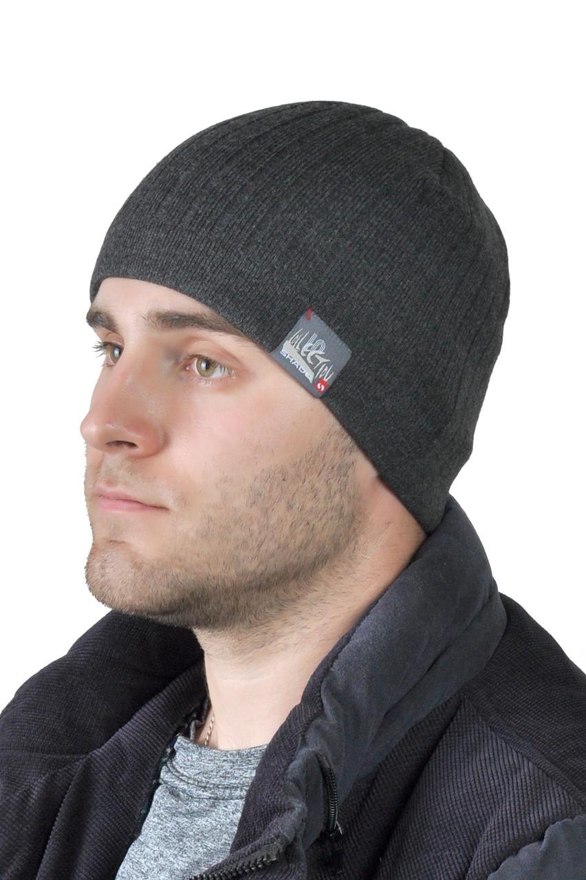 Зимняя мужская шапка ShaDo №41 - KingLegProm в Хмельницком