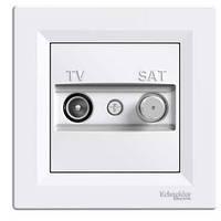 Розетка SCHNEIDER ASFORA EPH3400423 TV-SAT концевая (1 дБ) кремовый