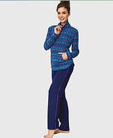 Флисовый домашний комплект / теплая пижама KEY LHS 877 B6