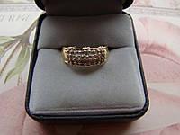 Кольцо золото 14К (п.585) р.17