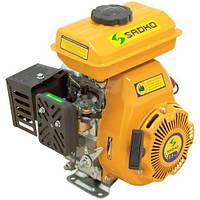 Двигатель бензиновый Садко GE-100PRO  (2,5 л.с., ручной стартер, шпонка Ø15мм, L=48,2мм), фото 1