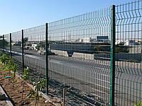"""Сварной забор из сетки """"Стандарт"""" 1.73м в ППЛ"""