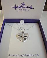 "Hallmark ""Mom"" подвеска серебро п.925"