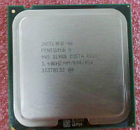 Мощный процессор Intel Pentium D945 (4M,3.40GHz);S775;2 ядра