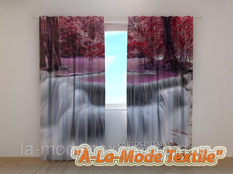 Фотошторы 3D Тайский водопад