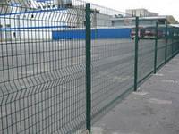 """Сварной забор из сетки """"Стандарт"""" 2.4м в ППЛ"""