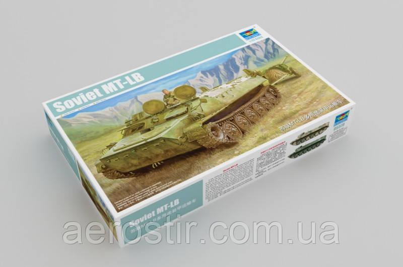 БТР советский МТ-ЛБ 1/35 trumpeter 05578